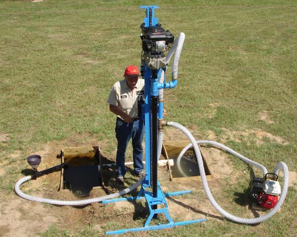 Скважина на воду инструмент