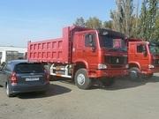 Продаём самосвалы   Хово Howoв - наличии  в Омске ,  6х4 25 тонн цена 2300000 рублей.