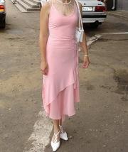 Платье вечернее трикотажное