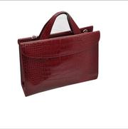 Bqotus Стильный женщинами PU кожаный портфель сумочка