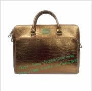 Женщины Croc рельефные бизнес ноутбук портфель сумка