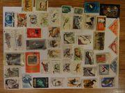 Почтовые марки СССР и различных животных