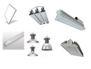 Светодиодные светильники,  LED,  офисные,  промышленные,  уличные.