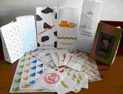 Бумажные,  ламинированные,  фольгированные пакеты