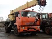 аренда автокрана г/п 20 тонн