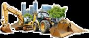 Демонтаж (снос) промышленных и жилых сооружений и зданий,  конструкций