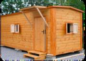 Производство бытовок деревянных