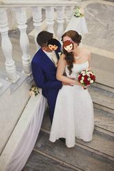 Свадебное платье A-силуэта