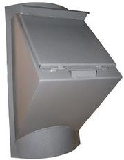 Клапаны мусоропровода загрузочные,  диаметр 380-450 мм продаем