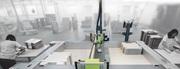 Автоматический клеенаносящий плоттер с ЧПУ