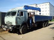 Грузоперевозки кран-манипулятор 10 тонн