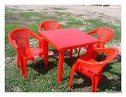 Пластиковая мебель от производителя