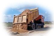 Песок доставка по городу и области