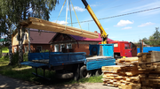 Манипулятор услуга Камаз перевозка грузов по городу и области