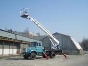 Услуги автовышки 18 м телескопическая