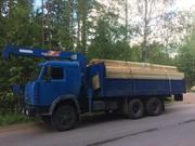 Манипулятор 10 тонн в аренду на базе Камаз