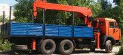 Услуги манипулятора от 10 до 15 тонн борт