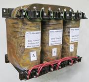Линейка трехфазных трансформаторов (1-400 Вт) типа НТЛ-(50, 400, 1000 Гц